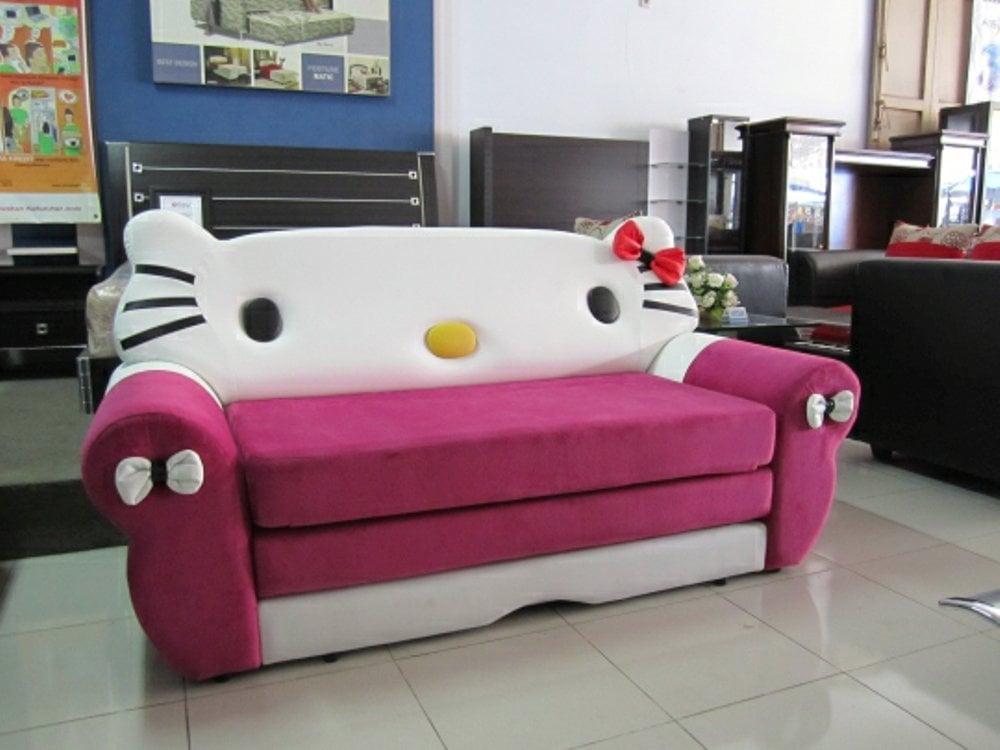 ghế sofa văng hello kitty