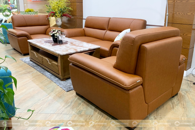 bộ ghế sofa 1-2-3 cho phòng giám đốc