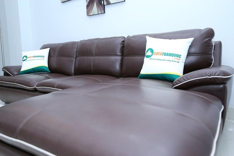 ghế sofa màu nâu cafe đẹp