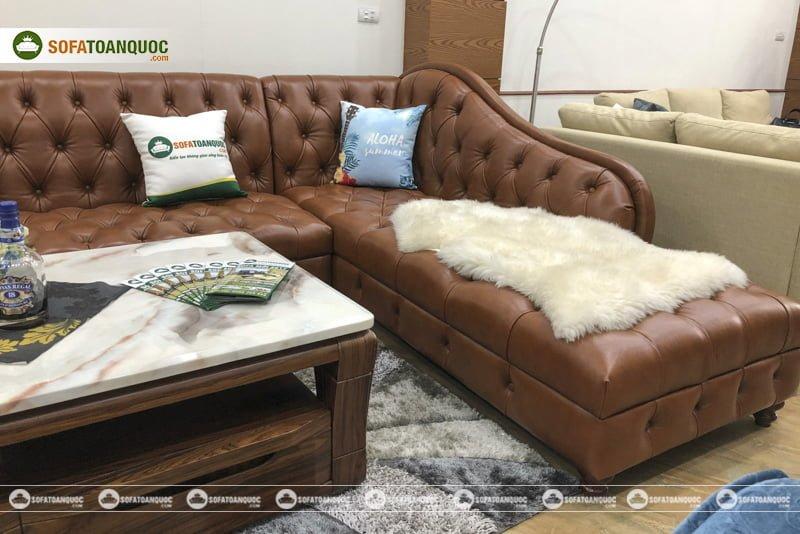 chân ghế sofa tiện tròn