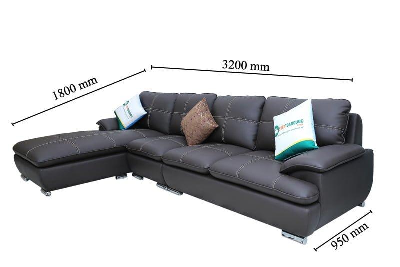 Kích thước thích hợp với những căn phòng cỡ lớn trong không gian phòng khách.