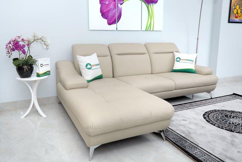 ghế sofa màu xám dễ dàng kết hợp nội thất sofa