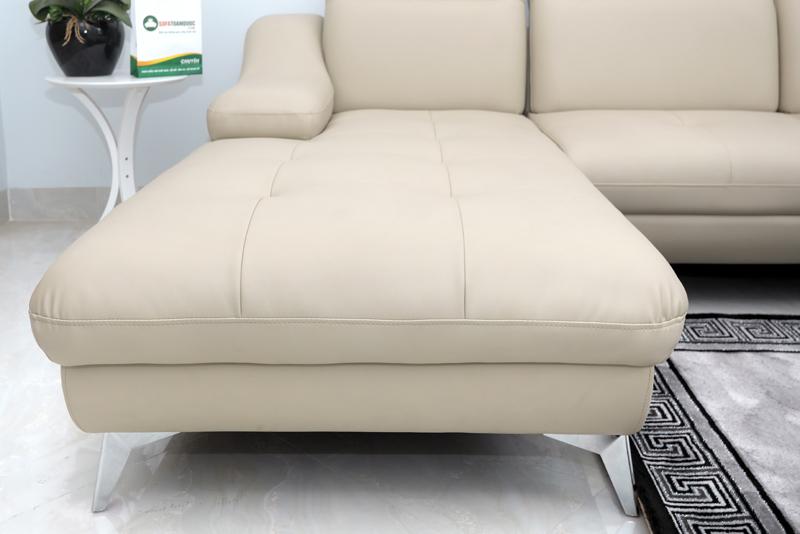 ghế sofa có chiếu nghỉ rộng rãi