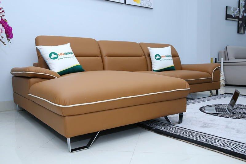Phần chiếu nghỉ sofa rộng rãi có thể nghỉ ngơi trên chính bộ ghế nhanh chóng.