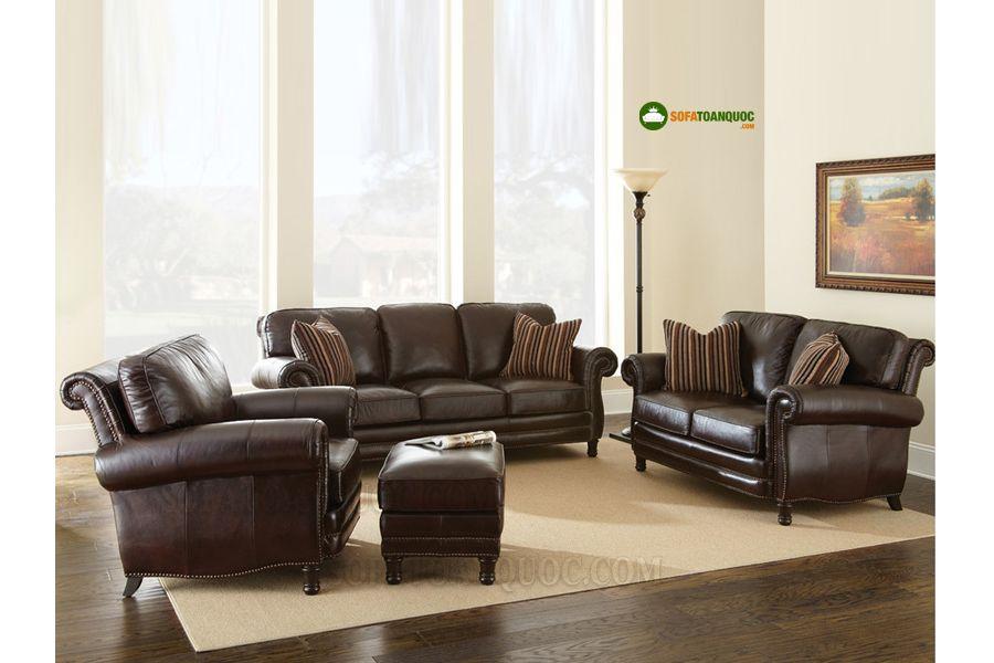 bộ bàn ghế sofa phong cách 1-2-3