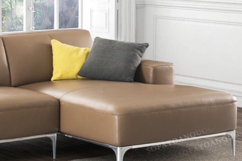 Chiếu nghỉ rộng rãi gia chủ có thể nghỉ ngơi ngay trên bộ ghế một cách nhanh chóng.