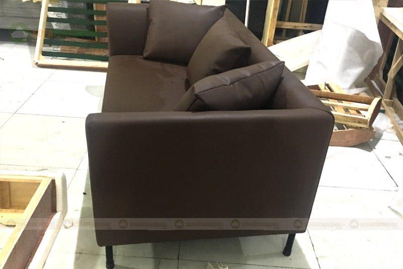 kích thước ghế sofa văng da cho chung cư