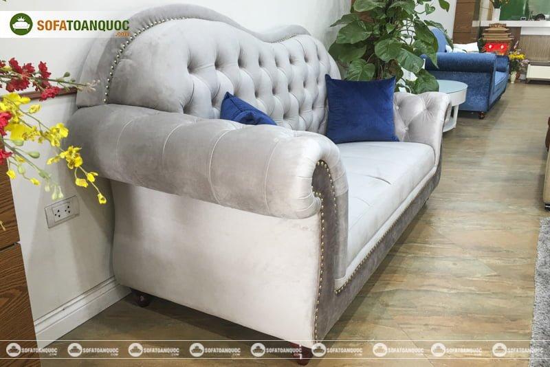 bộ ghế sofa bọc da đẹp và sang