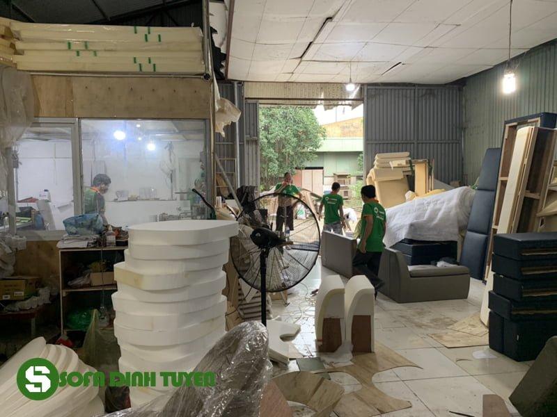 xưởng làm ghế sofa tại Thạch Thất Hà Nội