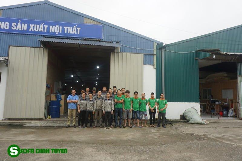 xưởng sản xuất ghế sofa Đình Tuyến