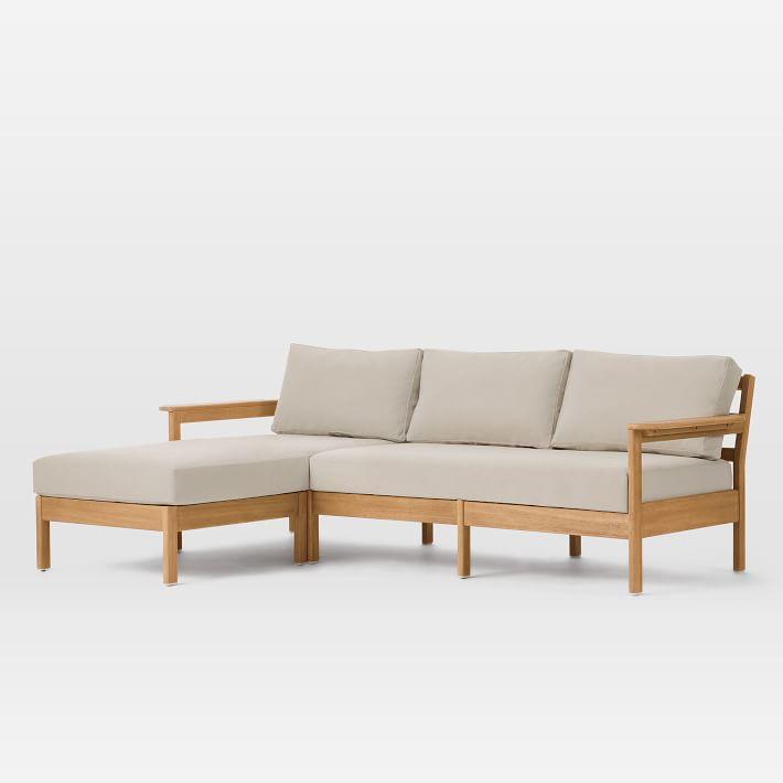 mẫu ghế sofa gỗ đệm gọn nhẹ tối ưu diện tích