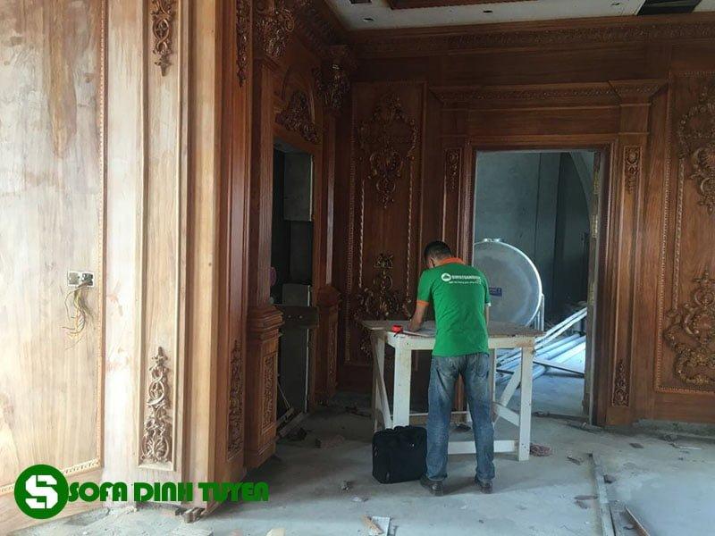 Công trình được Sofa Đình Tuyến đảm nhận thi công phần nội thất.