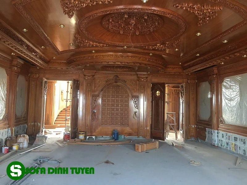 nội thất khách sạn gỗ tự nhiên 100% của Sofa Đình Tuyến