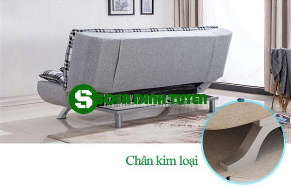 chân ghế sofa giường bằng kim loạii
