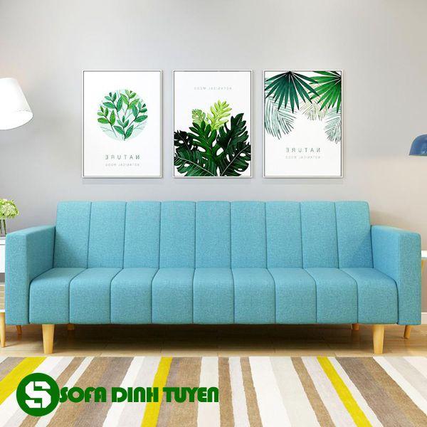 Chất liệu vải của bộ ghế sofa dễ làm sạch và thay mới hơn.
