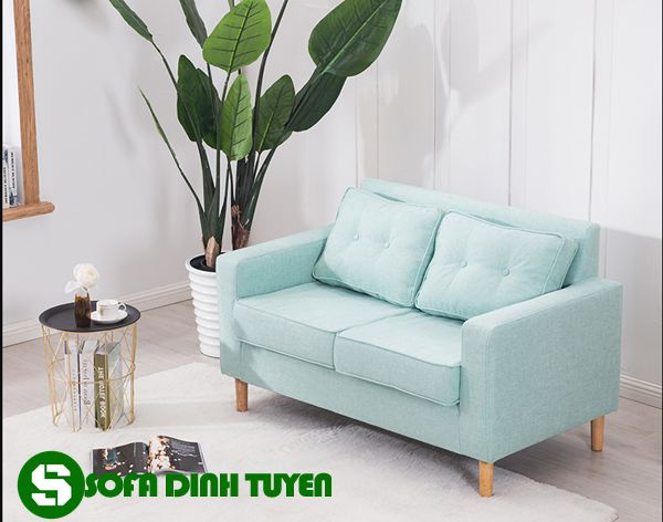 Tự do lựa chọn và bài trí trong nhiều không gian khác nhau. Ghế sofa 2 chỗ kích thước nhỏ tinh tế.
