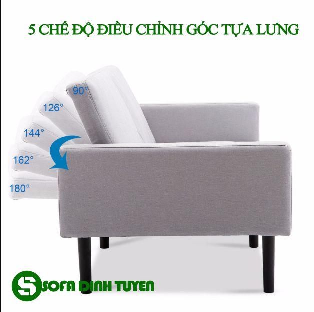 5 chế độ điều chỉnh mang tới sự thoải mái cho người sử dụng sofa giường.