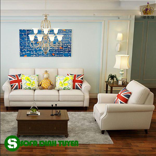 Kiểu dáng bộ sofa 1-2-3 sang trọng và đẳng cấp dễ trang trí.