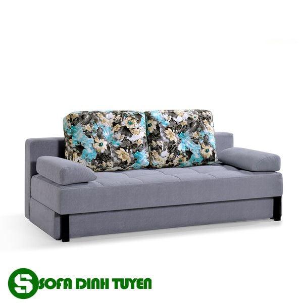 Khung ghế kim loại giúp bộ ghế sofa giường ngủ luôn chắc chắn khi sử dụng.