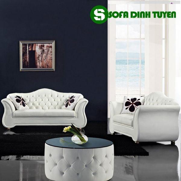 Sofa 3 món riêng lẻ dễ bài trí sử dụng. Cho cả không gian rộng và hẹp dễ dàng.