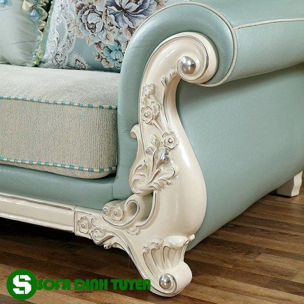 Gam màu nhẹ nhàng, trang nhã dễ kết hợp nội thất sofa.