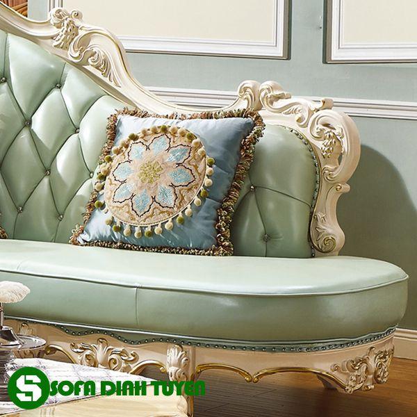 Phong cách mới lạ của bộ ghế sofa phong cách hoàng gia quý tộc.