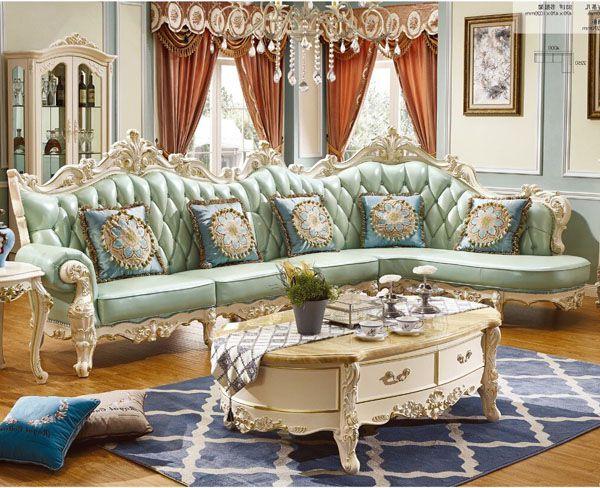 Bộ ghế sofa phong cách hoàng gia quý tộc tinh tế