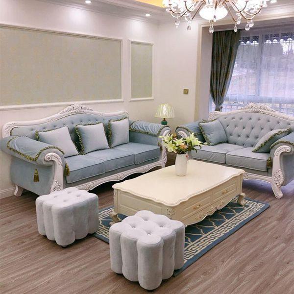Phong cách sofa ấn tượng với kiểu dáng quý tộc sang chảnh, lịch sự.