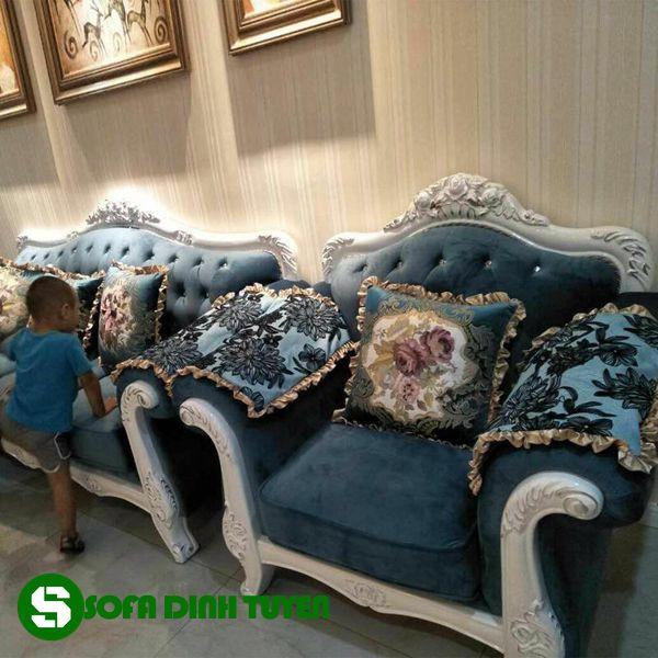 Nhiều màu sắc đẹp cho khách hàng tự do chọn lựa khi lựa chọn sofa vải.