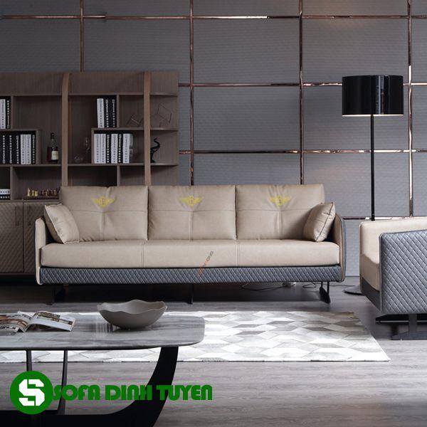 bộ ghế sofa văn phòng da công nghiệp