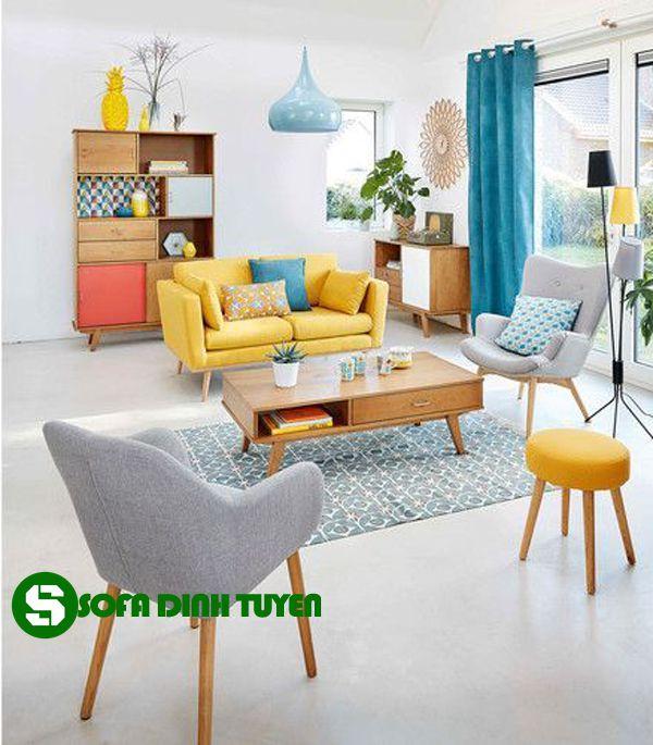 bộ bàn ghế sofa cho nhà nhỏ cấp 4 hiện đại